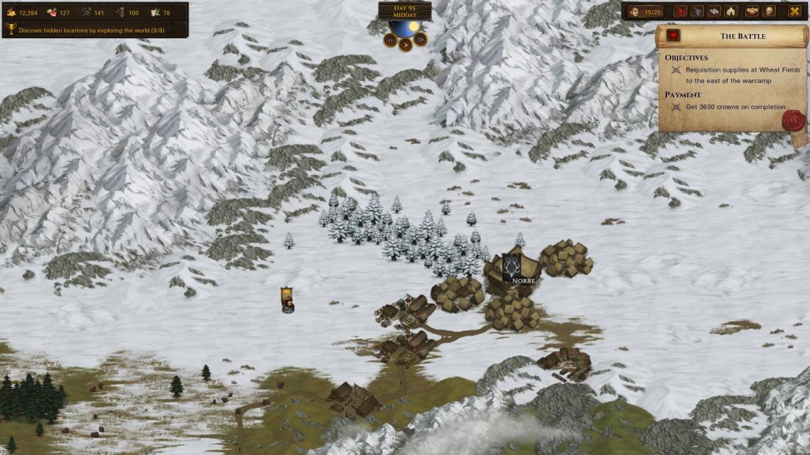 Worldmap Snow